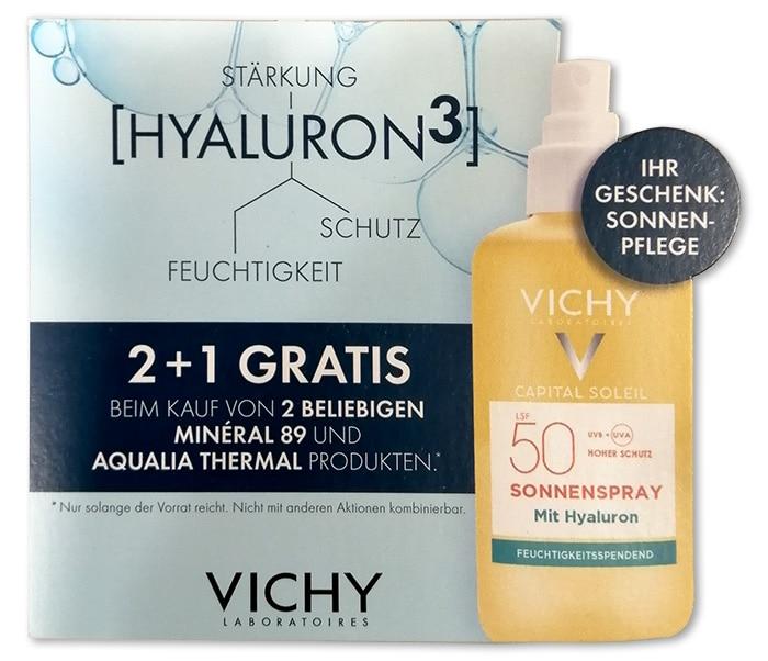 VICHY Sonnenprodukt gratis